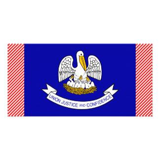 Louisiana Flag Card