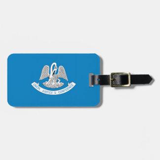 LOUISIANA Flag Bag Tag