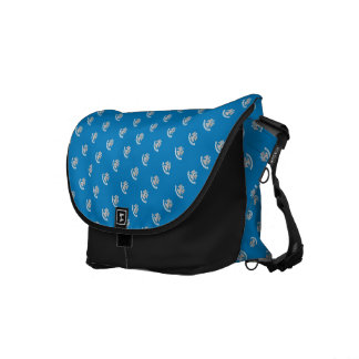 LOUISIANA Flag Pattern Courier Bags