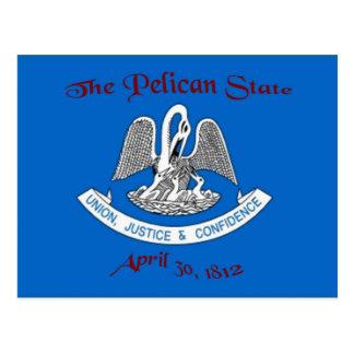 Louisiana Flag Postcard