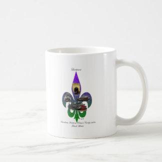 Louisiana Fleur de Lis Landmarks Coffee Mugs
