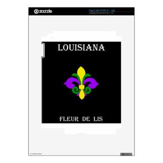 Louisiana Fleur de lis (Mardi Gras).jpg iPad 2 Skins