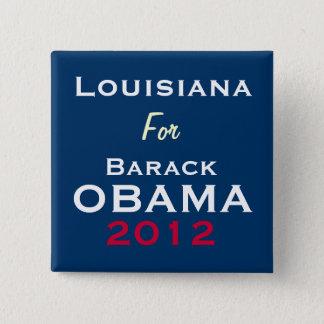 LOUISIANA For OBAMA 2012 Campaign Button