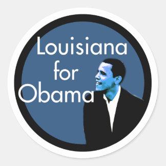 Louisiana for Obama Sticker