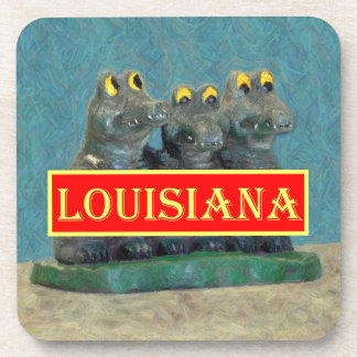 Louisiana Gators Painting 1.jpg Beverage Coaster
