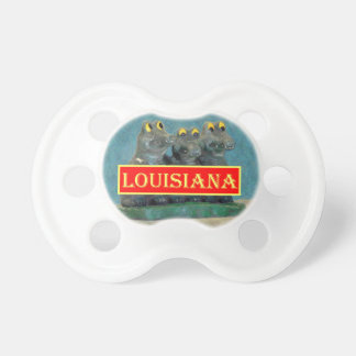 Louisiana Gators Painting 1.jpg Pacifier