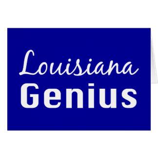 Louisiana Genius Gifts Card