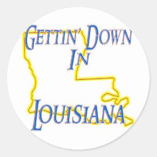 Louisiana - Gettin' Down Stickers