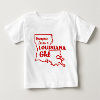 Louisiana Girl Baby T-Shirt