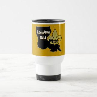 Louisiana Gold Travel Mug