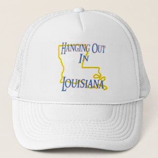 Louisiana - Hanging Out Trucker Hat