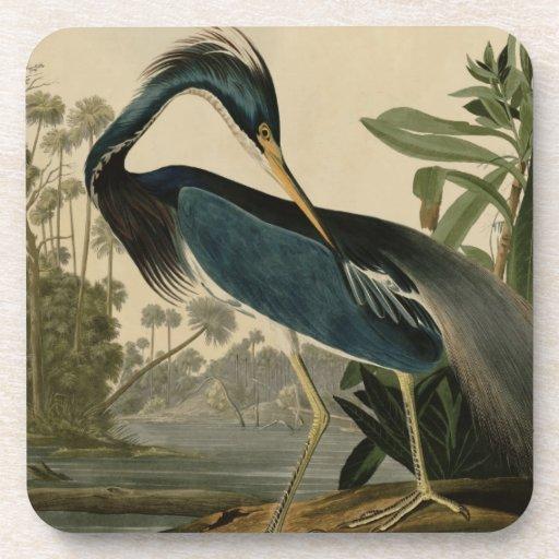 Louisiana Heron Beverage Coasters