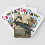 Louisiana Heron Bicycle Playing Cards