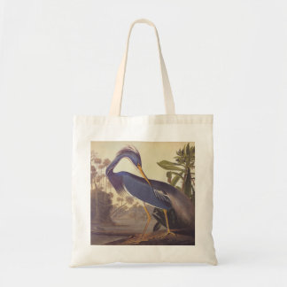 Louisiana Heron or Tricolored Heron by Audubon Tote Bag