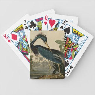 Louisiana Heron Poker Cards