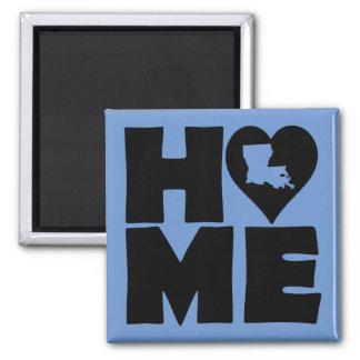 Louisiana Home Heart State Fridge Magnet