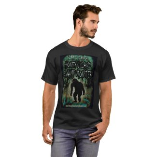 Louisiana Honey Island Swamp Monster T Shirt