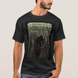 Louisiana Honey Island Swamp Monster t shirt color