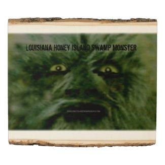 Louisiana Honey Island Swamp Monster Wood Panel