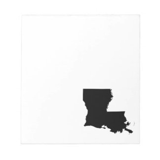 Louisiana in Black and White Note Pad
