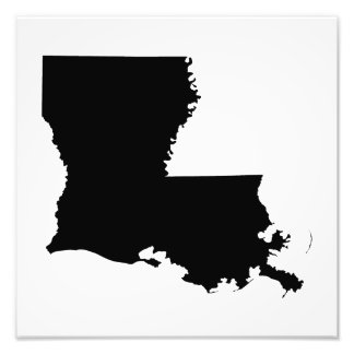 Louisiana in Black and White Photo Print