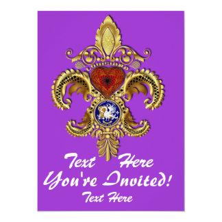 Louisiana Inivitations  Over 50 Colors Card