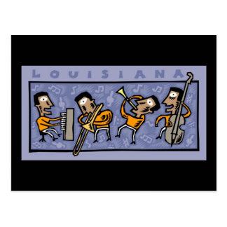 Louisiana Jazz Band Postcard