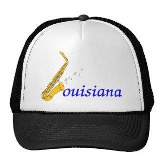 louisiana jazz trucker hat