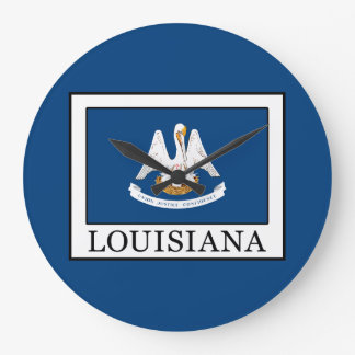 Louisiana Large Clock