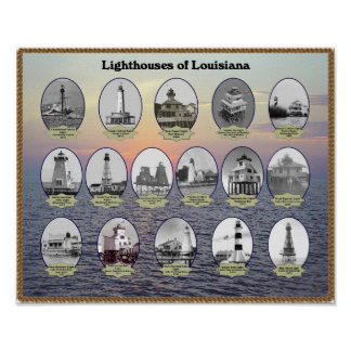 Louisiana Lighthouses Posters