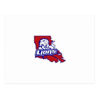 Louisiana Lions Postcard
