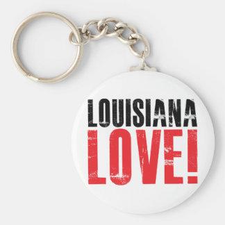 Louisiana Love Keychain