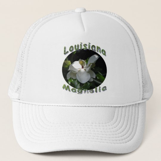 Louisiana Magnolia Trucker Hat