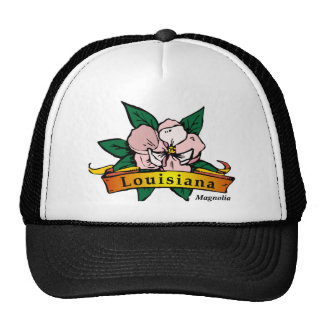 Louisiana Magnolia Trucker Hat