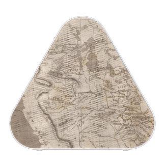 Louisiana Map by Arrowsmith Bluetooth Speaker