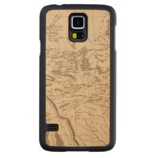 Louisiana Map by Arrowsmith Carved Maple Galaxy S5 Case