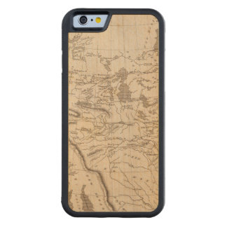 Louisiana Map by Arrowsmith Carved Maple iPhone 6 Bumper Case