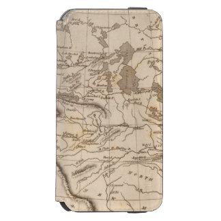 Louisiana Map by Arrowsmith iPhone 6/6s Wallet Case