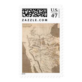Louisiana Map by Arrowsmith Postage