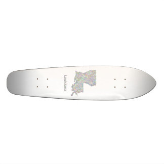 Louisiana map skate board decks