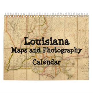 Louisiana Maps and Photography Calendar