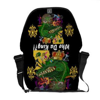 Louisiana Mardi Gras Party Best view lg 30 Color Messenger Bag