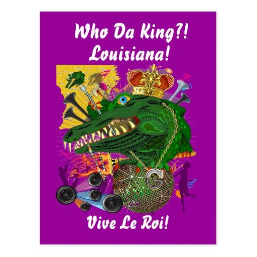Louisiana Mardi Gras Party Please See Notes Postcard