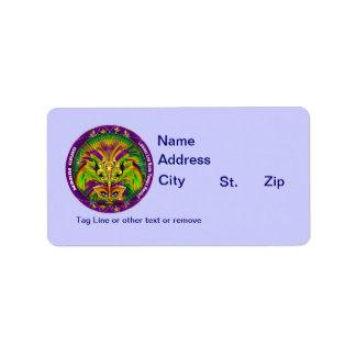 Louisiana Mardi Gras Party See Notes Address Label