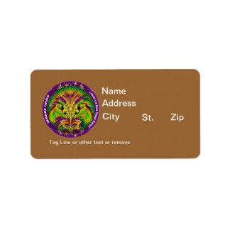Louisiana Mardi Gras Party See Notes Custom Address Labels
