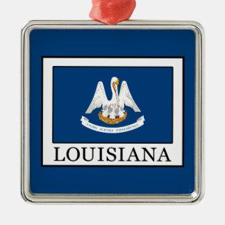 Louisiana Metal Ornament