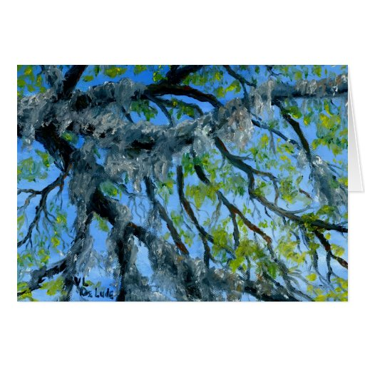 Louisiana Mossy Oak Limbs Card
