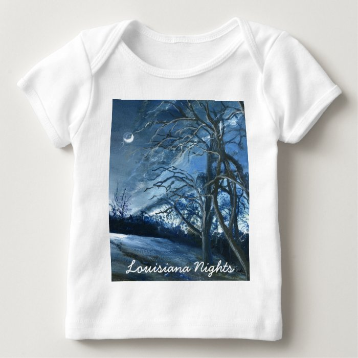 Louisiana Nights, Fine Art Baby T-Shirt