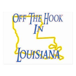 Louisiana - Off The Hook Postcard