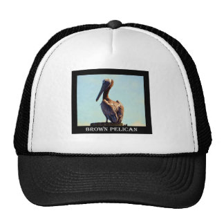 Louisiana Pelican Mesh Hat